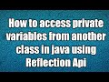 how to access private variables from ano...mp3