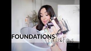 ALLES MUSS RAUS I Foundation Fails I TOPS & FLOPS I Makeup Kollektion ausmisten
