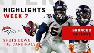 Broncos Defense Racks Up 6 Sacks, 3 INTs & 2 TDS!