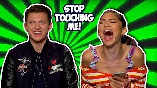 Tom Holland & Zendaya Making Each Other Laugh So Hard (Spider-Man: Far From Home)