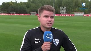 U15-Trainer Simon Schuchert vor dem Saisonstart