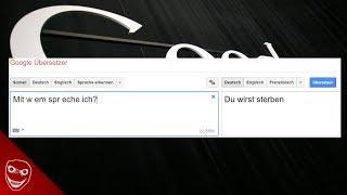 Google Übersetzer zeigt schreckliche Nachrichten und private Emails! Translate Gate!