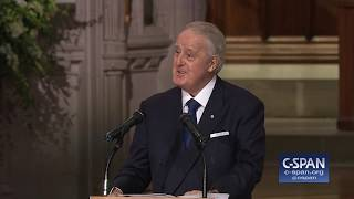 Former Canadian Prime Minister Brian Mulroney Tribute to President George H.W. Bush (C-SPAN)