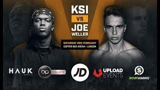 Joe Weller vs KSI - Copper Box Arena February 3rd 2018