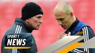 Robben will, dass Heynckes Bayern-Trainer bleibt | SPORT1 - Der Tag