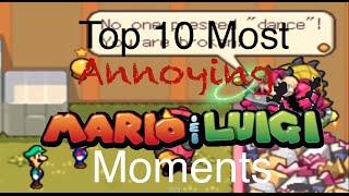 Top 10 Most Annoying Mario & Luigi Moments