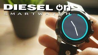 Die wohl schönste Smartwatch Diesel On Full Guard UNBOXING und EINRICHTEN