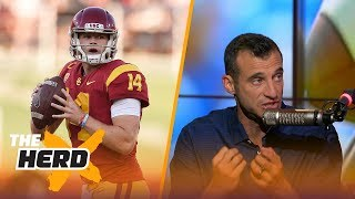Doug Gottlieb talks NBA lottery reform, Lamar Jackson vs Sam Darnold and more | THE HERD