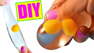 DIY Egg Stress Ball! Squishy Stretchy Egg Splat Ball!