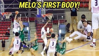 LaMelo Ball Catches His FIRST POSTER! Takes Over In Last Game In Lithuania!