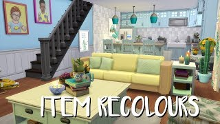 The Sims 4: Speed Build- ITEM RECOLOURS / CC LINKS