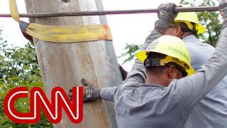 Puerto Rico without power as Hurricane Maria heads north