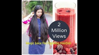 Magic Juice For Fighting Hairfall and A Super Glowing Skin