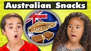 KIDS TRY AUSTRALIAN SNACKS   Kids Vs. Food