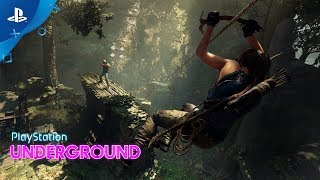Shadow of the Tomb Raider - PS4 Combat Gameplay | PS Underground