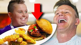 15 Times Gordon Ramsay Actually LIKED THE FOOD!