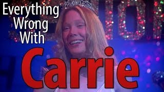 Everything Wrong With Carrie In 5 Minutes Or Less