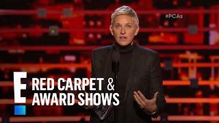 Ellen DeGeneres shares a shirtless Hemsworth pic at People