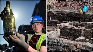 When Workers Dug Up These 200 Year Old Relics, They Discovered An 1800s Drinking Den