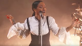 Rihanna Love On the Brain | Live at Global Citizen Festival 2016