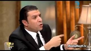 لقاء نارى مع مصطفى كامل وايمان البحر درويش ووصلة من الردح على الهوا برنامج العاشرة مساء