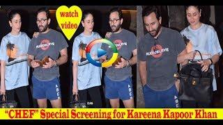 """""""CHEF"""" Special Screening for Kareena Kapoor Khan"""