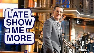 LATE SHOW ME MORE: Colbert