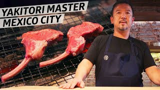 Master Yakitori Chef Shigetoshi Narita is using Mexican Flavors in His Grilled Meat