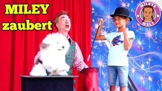 MILEY ZAUBERT mit Tilo SCHOPPE im Schwabenpark   Mileys Welt