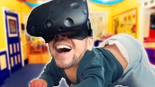BABY GOT BACK | Baby Hands VR (HTC Vive Virtual Reality Wireless)