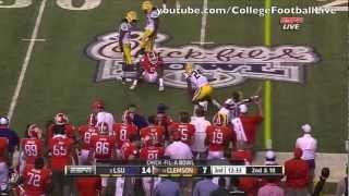 Clemson QB Tajh Boyd vs LSU ᴴᴰ