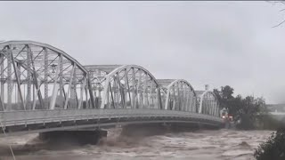 Floodwaters recede in central Texas after days of severe rain