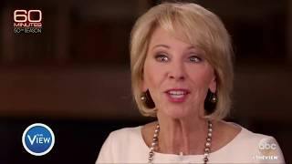 Betsy DeVos Struggles In Interview On Education | The View