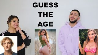 GUESS THE YOUTUBER'S AGE CHALLENGE!!