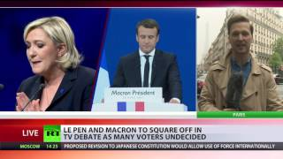 Le Pen or Macron? Poll gap between candidates narrows as final election round approaches