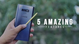 5 Amazing Galaxy Note 9 Features in Action!