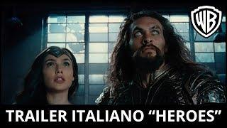 "JUSTICE LEAGUE - Trailer Ufficiale Italiano ""Heroes""   HD"