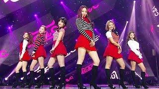 《CUTE》 CLC(씨엘씨) - 예뻐지게(High Heels) @인기가요 Inkigayo 20160320