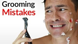 5 WORST Grooming Mistakes Men Make (And How To Fix Them!) | BIGGEST Manscaping DON