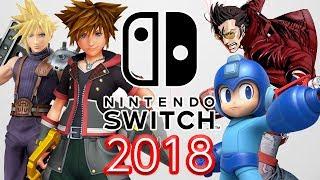 Nintendo Switch in 2018 - Super Smash Bros, Mega Man 11, Kingdom Hearts 3? (Part 2)