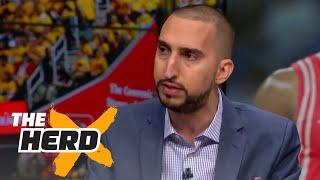 Nick Wright: LeBron still MVP ahead of Westbrook, Harden   THE HERD