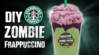 DIY ZOMBIE FRAPPUCCINO - RECIPE LEAKED!!