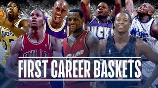 50 First Career Baskets from NBA Players