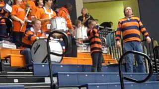 Bucknell Bison Fight Song Nicholas on cowbell