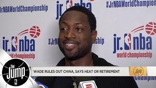 Dwyane Wade rules out China, says it