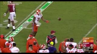 Mike Williams INCREDIBLE Catch On Clemson Game-Winning Drive