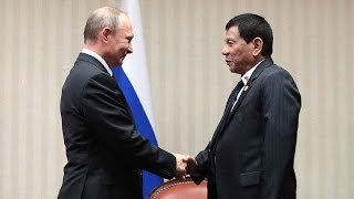 Duterte to meet his 'idol' Putin in Moscow