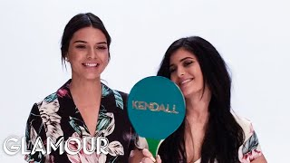 "Kendall and Kylie Jenner Play ""Which Sister"" 