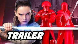 Star Wars The Last Jedi Trailer 3 - Kylo Ren and Rey New Backstory Explained