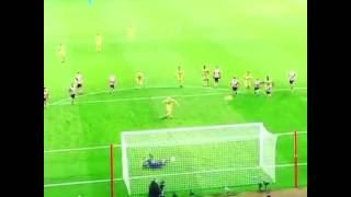 Harry Kane penalty vs Southampton